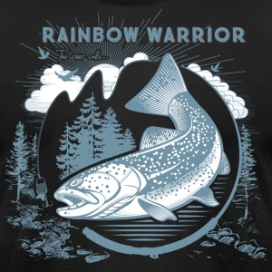 Rainbow Warrior - Men's T-Shirt by American Apparel