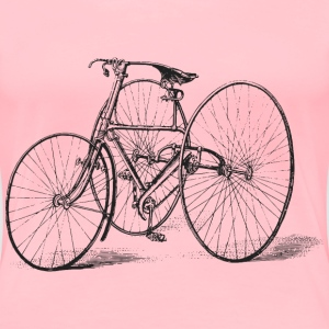 Antique Tricycle - Women's Premium T-Shirt