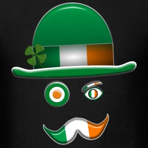 Irish Flag Face. - Men's T-Shirt