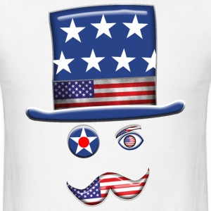 Stars And Stripes Man. - Men's T-Shirt