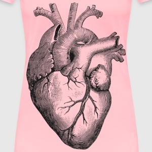 Anatomical Heart - Women's Premium T-Shirt