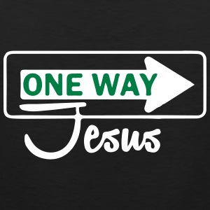Catholic design - One WayJesus Sportswear - Men's Premium Tank