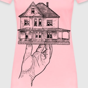 House in a Hand - Women's Premium T-Shirt