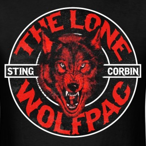 The Lone Wolfpac Shirt - Men's T-Shirt