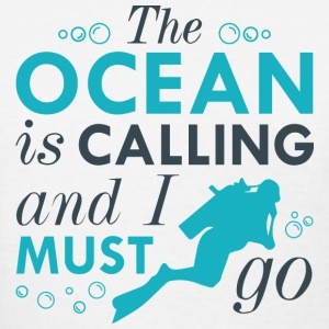 The Ocean Is Calling - Women's T-Shirt