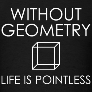 Without Geometry - Men's T-Shirt