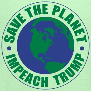 save the planet impeach trump Tanks - Women's Flowy Tank Top by Bella