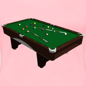 Pool Table - Women's Premium T-Shirt
