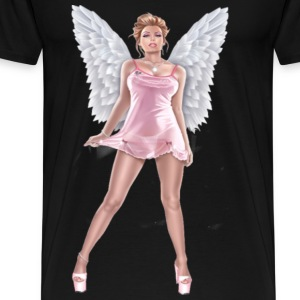 Angel in lingerie T-Shirts - Men's Premium T-Shirt