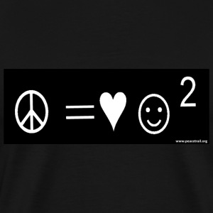 Peace Equals  - Men's Premium T-Shirt