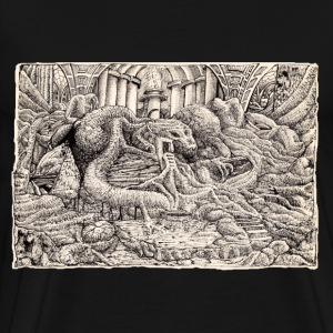 Feline Temple - Men's Premium T-Shirt