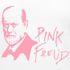 PINK FREUD High Quality Printing for Clear Colors Tanks - Women's Premium Tank Top