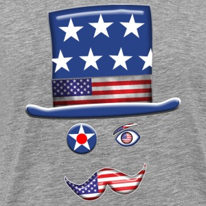 Stars And Stripes Man. - Men's Premium T-Shirt