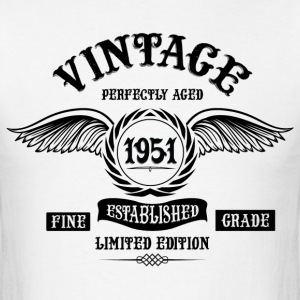 Vintage Perfectly Aged 1951 T-Shirts - Men's T-Shirt