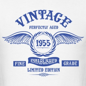 Vintage Perfectly Aged 1955 T-Shirts - Men's T-Shirt