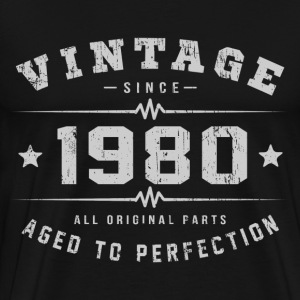 1980 Aged To Perfection T-Shirts - Men's Premium T-Shirt