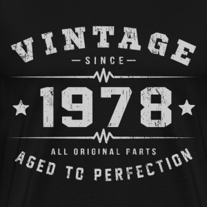 1978 Aged To Perfection T-Shirts - Men's Premium T-Shirt