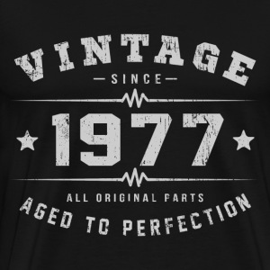 1977 Aged To Perfection T-Shirts - Men's Premium T-Shirt