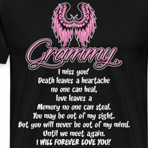 Grammy I Miss You T-Shirts - Men's Premium T-Shirt