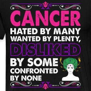 Cancer Hated By Many Wanted Plenty T-Shirts - Men's Premium T-Shirt