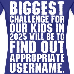 Biggest Challenges For Our Kids Find Username T-Shirts - Women's Premium T-Shirt