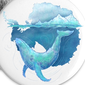 Southern Ocean Whale Sanctuary Buttons - Large Buttons