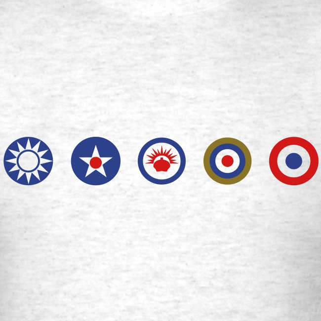 Allies: Allied Logos Tee - Simple