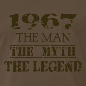 The Man The Myth 1967 - Men's Premium T-Shirt