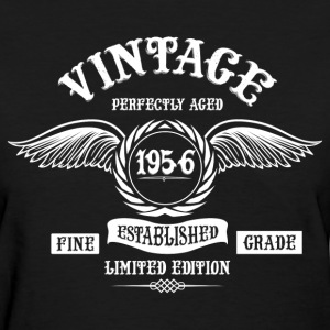 Vintage Perfectly Aged 1956 T-Shirts - Women's T-Shirt