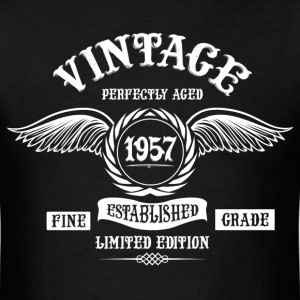 Vintage Perfectly Aged 1957 T-Shirts - Men's T-Shirt