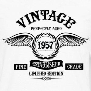 Vintage Perfectly Aged 1957 Long Sleeve Shirts - Men's Premium Long Sleeve T-Shirt