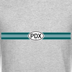 Portland Racing Stripe - Crewneck Sweatshirt
