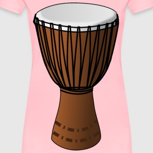 Djembe Drum - Women's Premium T-Shirt