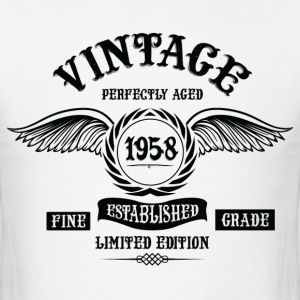 Vintage Perfectly Aged 1958 T-Shirts - Men's T-Shirt