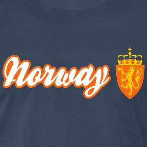 Norway Shield and Lion ED T-Shirts - Men's Premium T-Shirt