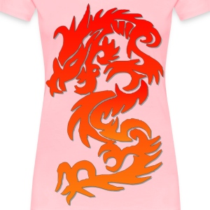 Chinese Dragon - Women's Premium T-Shirt