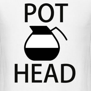 Pot Head - Men's T-Shirt
