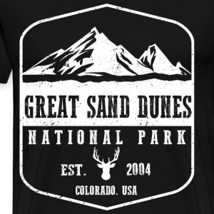 Great Sand Dunes T-Shirts - Men's Premium T-Shirt