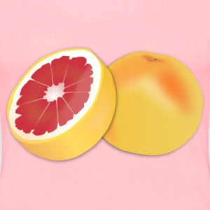 Grapefruit - Women's Premium T-Shirt