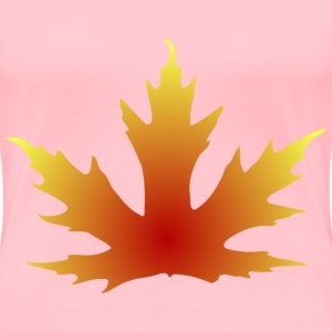 Maple Leaf - Women's Premium T-Shirt