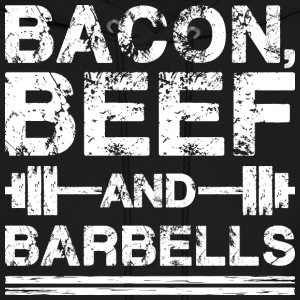 Bacon, Beef, And Barbells Hoodies - Men's Hoodie