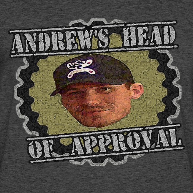 Andrew's Head Of Approval Tee - Men's
