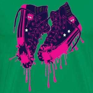 Love my sneakers art - Men's Premium T-Shirt