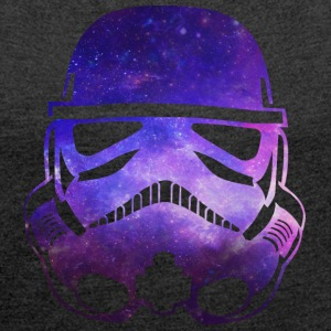 Space Trooper - Women´s Rolled Sleeve Boxy T-Shirt
