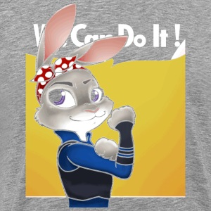 First bunny officer - Men's Premium T-Shirt