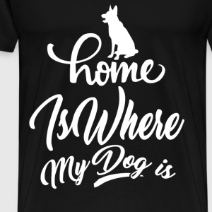 dog 91090212.png T-Shirts - Men's Premium T-Shirt