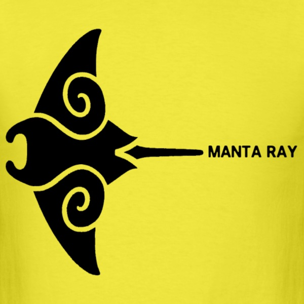 Manta Ray - Men's T-Shirt