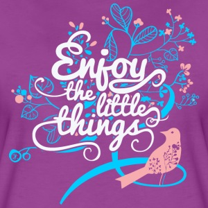 Enjoy The Little Things T-Shirts - Women's Premium T-Shirt