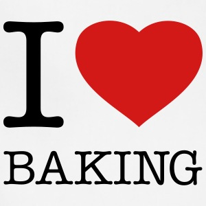 I LOVE BAKING - Adjustable Apron