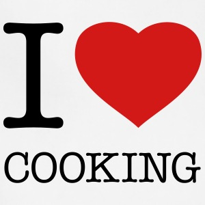 I LOVE COOKING - Adjustable Apron